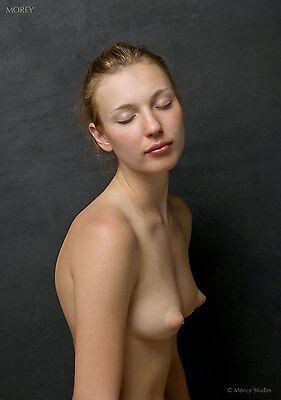 Fine Art Nude model, Yelena 2.25, signed photo by Craig Morey
