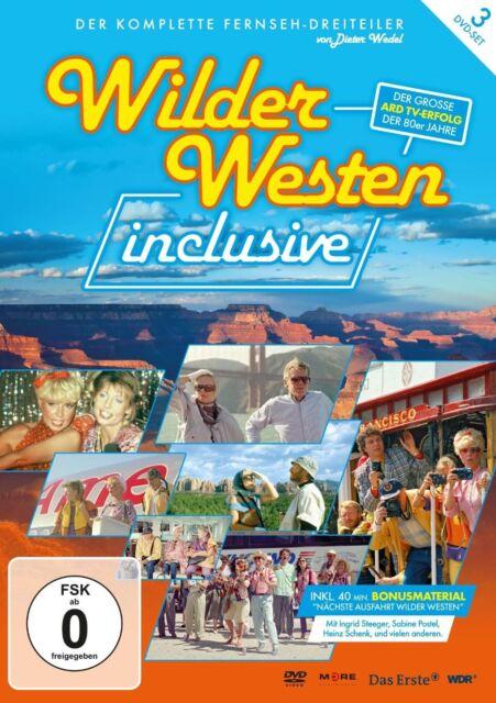 DIETER WEDEL - WILDER WESTEN INCLUSIVE ( 3-DVD-SOFTBOX ) - 3 DVD - NEU!!