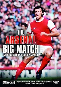 * NEW SEALED DVD FILM * THE ARSENAL BIG MATCH *