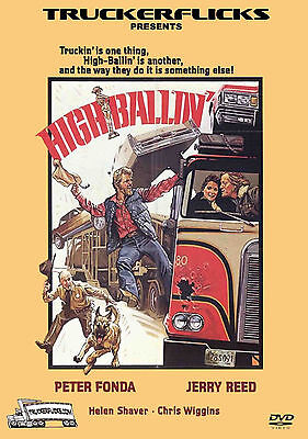 HIGH BALLIN' - DVD - 1977 Trucking Movie - Peter Fonda - Jerry Reed -HIGHBALLIN'