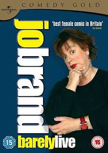 Jo Brand - Barely Live - Comedy Gold 2010 - DVD Windsor Brisbane North East Preview