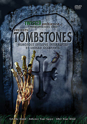 TOMBSTONES by TWISTED AMBIENCE: VIRTUAL HALLOWEEN HAUNTED CEMETERY GRAVEYARD F/X](Virtual Halloween)