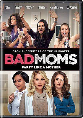 Bad Moms   Mila Kunis  Dvd  2016    Brand New   Free Shipping