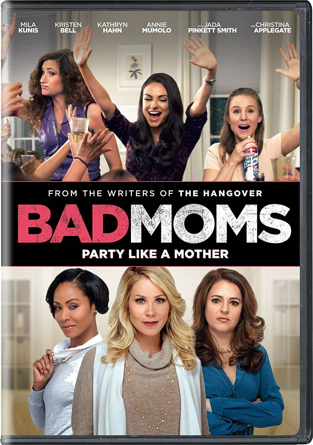 Bad Moms - Mila Kunis (DVD, 2016) - Brand New!! Free Shipping!!