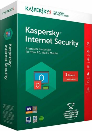Kaspersky Internet Security 2020 1 Year 1 Device World Wide instant delivery