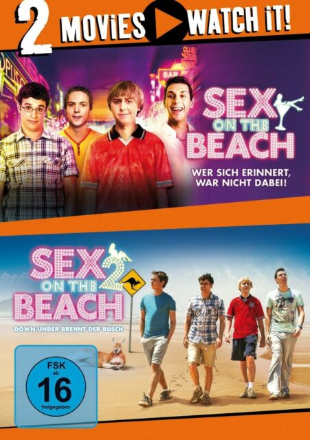 SEX ON THE BEACH 1/SEX ON THE BEACH 2 2 DVD NEU