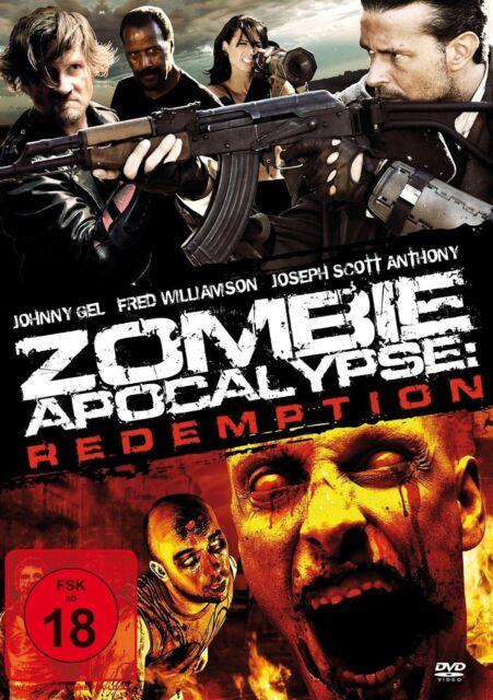 Zombie Apocalypse: Redempiton - Fred Williamson - DVD - NEU & OVP FSK18