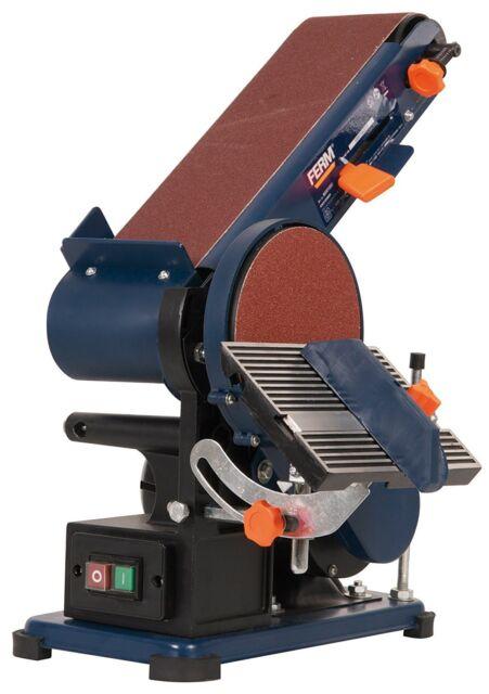 Bandschleifmaschine,Tellerschleifer, 375 W, Ferm BGM1003