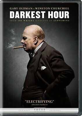 NEW Darkest Hour DVD 2017 THE MOVIE Gary Oldman Kristin Scott Thomas Lily JameS