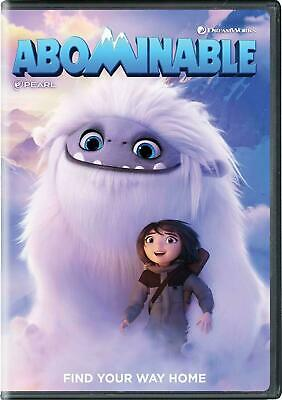 Abominable (DVD, 2019) New & Sealed Free 3 Day Shipping Included