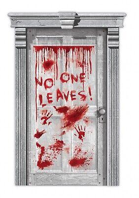 Halloween Blutige Horror Nein Eine Blätter Türvorhang Heim Party Haus Dekoration