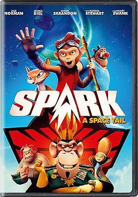 Spark  A Space Tail  Dvd  2017   Dvd Only No Box Art