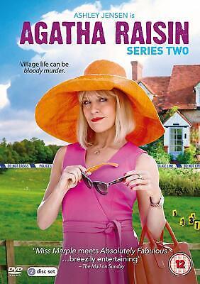 Agatha Raisin - Series 2 (DVD) Ashley Jensen, Mathew Horne, Katy Wix