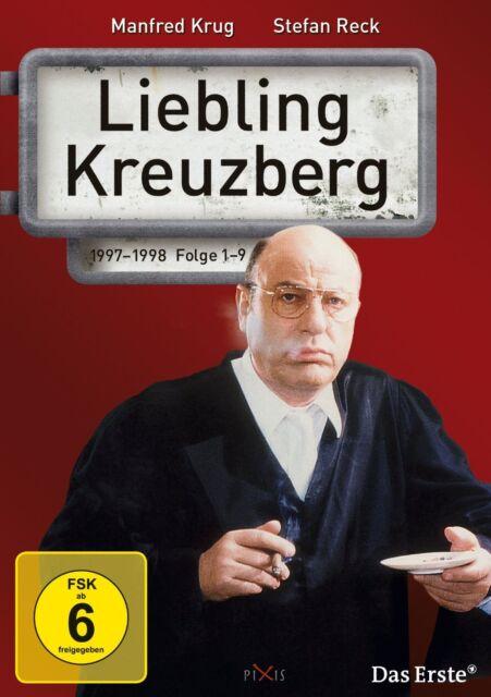 3 DVDs * LIEBLING KREUZBERG - STAFFEL 5 (FOLGE 1-9) MANFRED KRUG # NEU OVP @