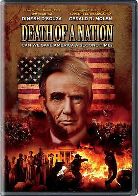Death of a Nation DVD 2018 NEW FREE SAME DAY SHIPPING TRUMP