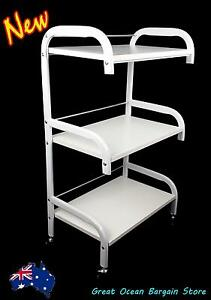 Wooden Shelf Tray Beauty Salon Cart Chipping Norton Liverpool Area Preview