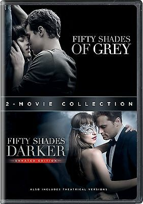Fifty Shades Of Grey   50 Shades Darker   Complete Movies 1   2 Box Dvd Set