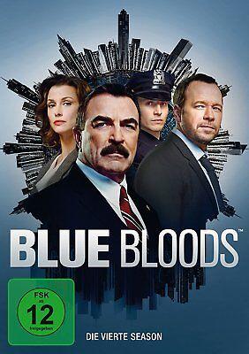 6 DVDs * BLUE BLOODS - STAFFEL / SEASON 4 | TOM SELLECK # NEU +