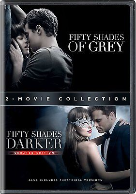 Fifty Shades Of Grey   50 Shades Darker  Complete Movies 1   2 Box Dvd Set New