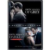Fifty Shades 2-Movie Collection DVD Set 50 Shades of Grey & 50 Shades Darker