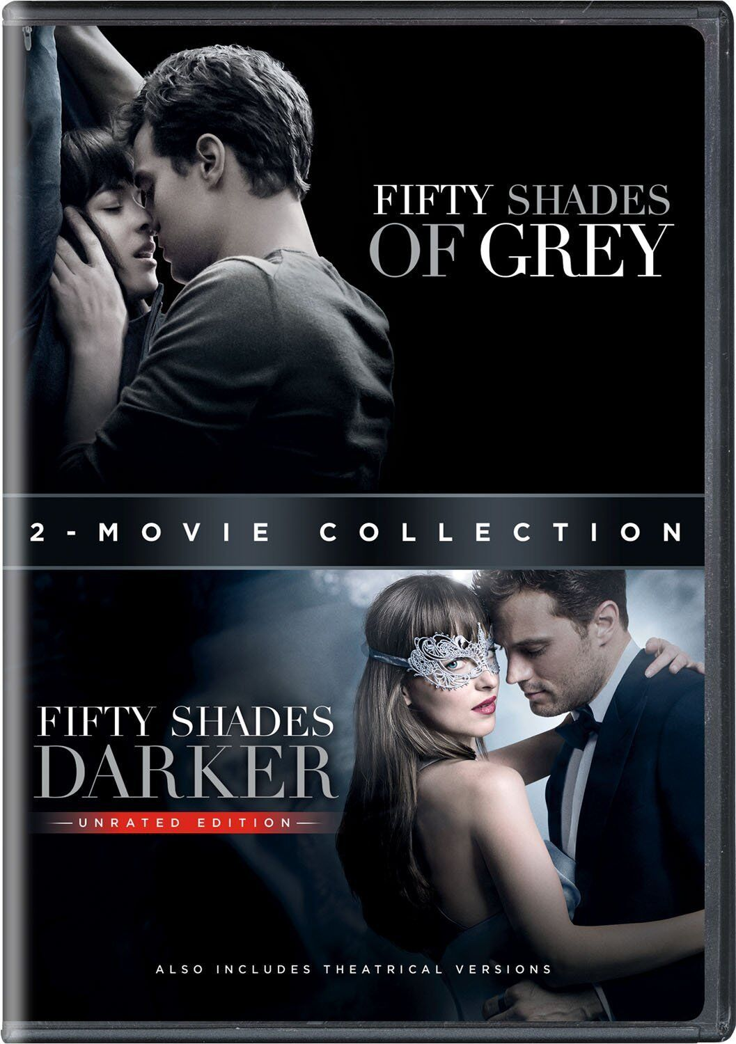 Fifty Shades 2-Movie Collection DVD Set 50 Shades of Grey & 50 Shades Darker