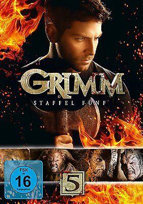 5 DVDs * GRIMM - SEASON / STAFFEL 5 # NEU OVP +