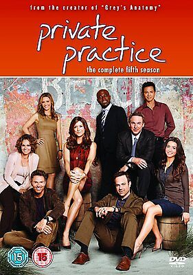 Private Practice - Complete Season 5 - Dvd - Uk Region 2 Sealed
