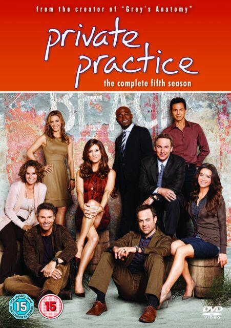 PRIVATE PRACTICE  - COMPLETE  SEASON 5 - DVD - UK Region 2 / sealed