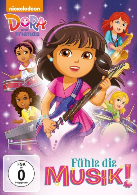 DORA AND FRIENDS-FÜHLE DIE MUSIK!   DVD NEU