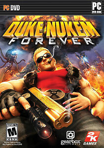 NEW! DUKE NUKEM FOREVER for PC XP/VISTA/7 SEALED NEW
