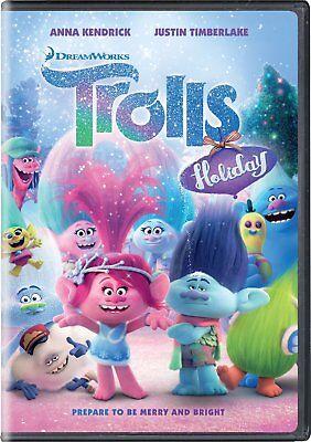 Trolls Holiday  Dvd  2017
