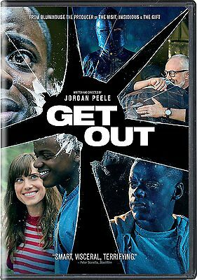 Get Out  Dvd  2017  New   Sealed   Ships Within 1 Business Day With Tracking