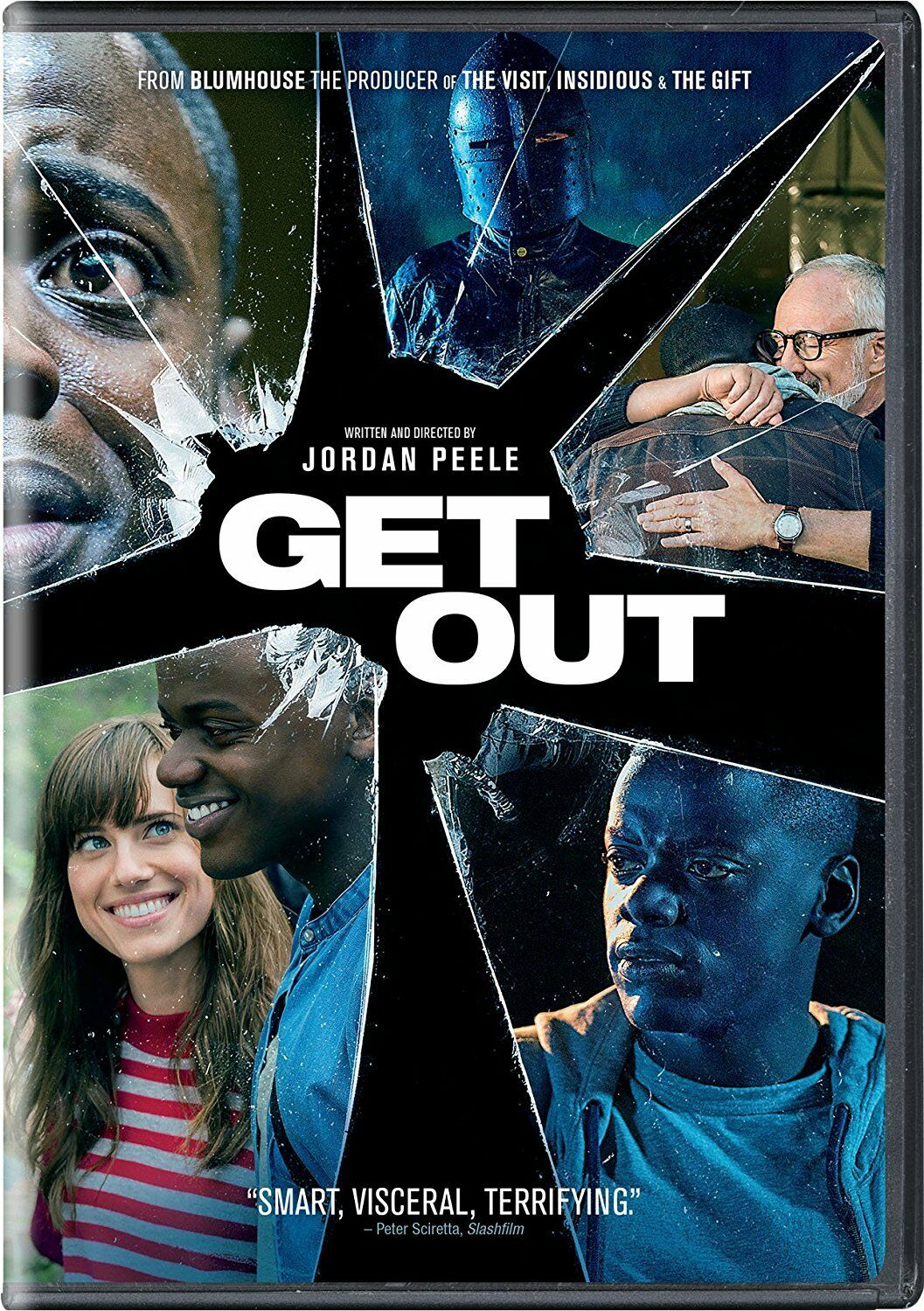 Get Out (DVD, 2017) NEW & SEALED - SHIPS WITHIN 1 BUSINESS DAY WITH TRACKING