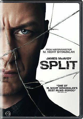 Split  Dvd  2017  Ships Within 1 Business Day With Tracking