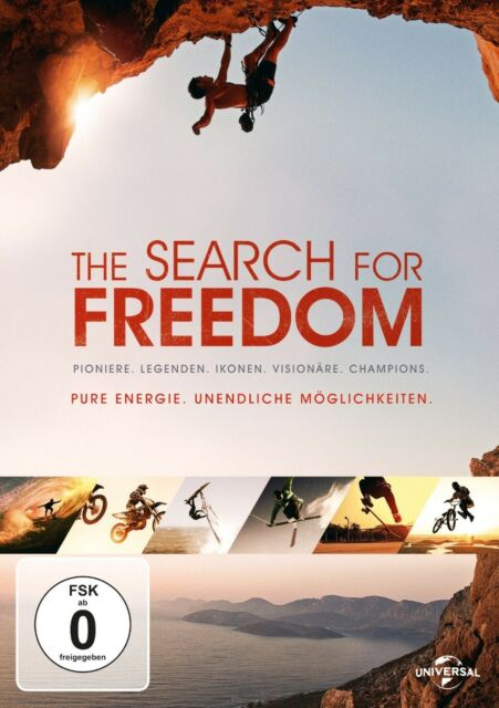 THE SEARCH FOR FREEDOM  DVD NEU