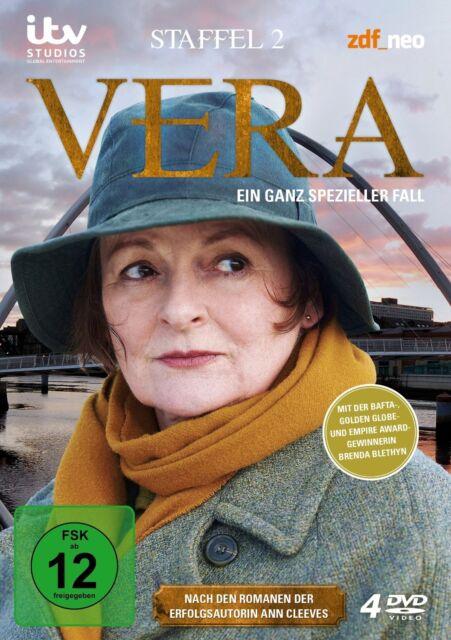 VERA - STAFFEL 2 4 DVD NEU BRENDA BLETHYN/+