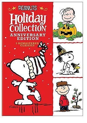 Peanuts  Charlie Brown  Holiday Anniversary Collection New 3 Disc Deluxe Dvd Set