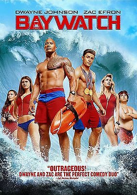 Baywatch (DVD,2017) Brand NEW *Comedy, Action, Zac Efron, FREE SHIPPING in USA!!