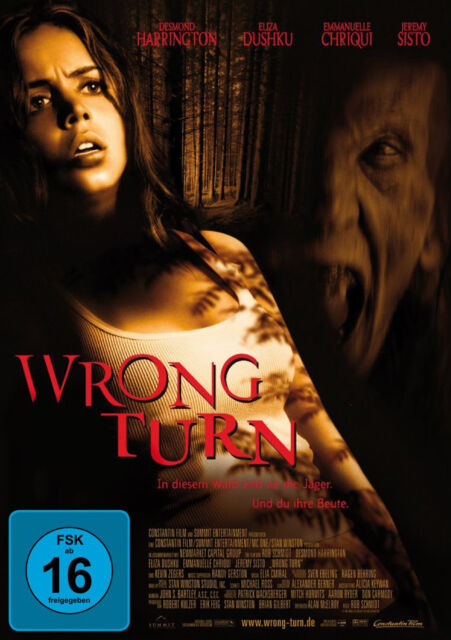 = DVD * WRONG TURN 1 # NEU OVP