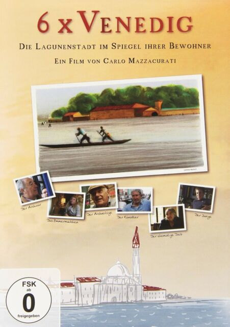 DOKUMENTATION - 6 X VENEDIG  DVD NEU