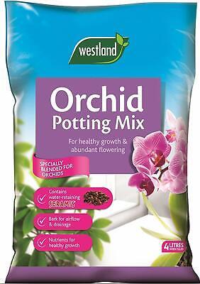 Orchid Soil Feritlizer Potting Compost Mix Enriched with Seramis 4 L Original