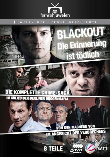 Blackout: Die Erinnerung ist tödlich KOMPLETT alle 8 Teile, 3 DVD Set NEU + OVP!