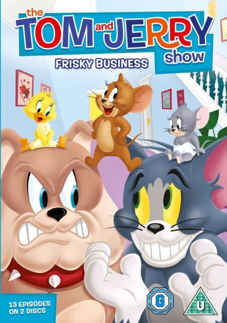 The Tom And Jerry Show Season 1 Part 1 (DVD) (C-U)