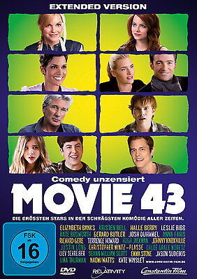 DVD * MOVIE 43 ~ KATE WINSLET , HUGH JACKMAN , UMA THURMAN # NEU OVP +