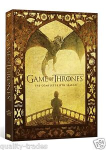 ❏ Game of Thrones - Season 5 DVD Complete 5th Fifth HBO Series ❏ Genuine R2