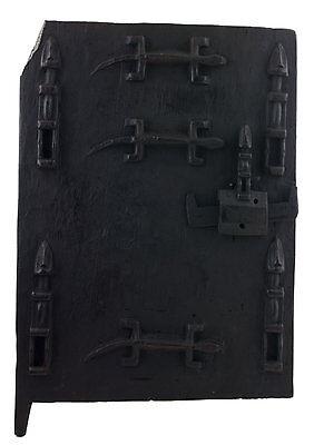 Door Dogon Grenier millet Mali 58x39 cm - Flap box- Art african - 16404