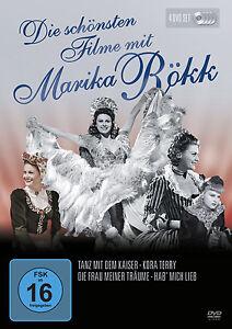 4 DVDs * DIE SCHÖNSTEN FILME MIT MARIKA RÖKK # NEU OVP &B