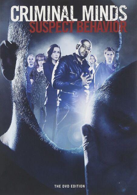 CRIMINAL MINDS : SUSPECT BEHAVIOR -  DVD - Region 1   Sealed