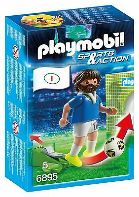 Playmobil 6895 Sports & Action Football Player Italy Figure