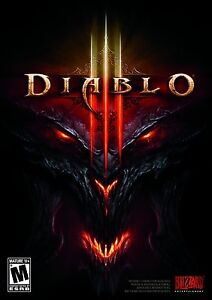 New! Diablo III 3 (PC DVD-ROM, 2012) - U.S. Retail Version! Ships Worldwide!